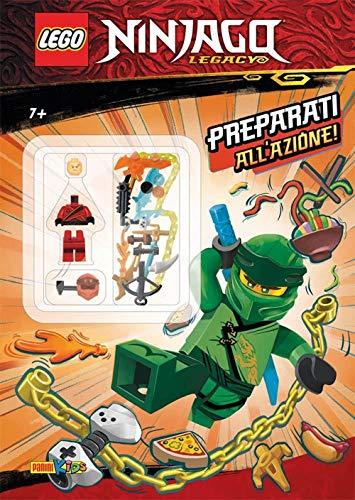 Preparati all'azione! Lego Ninjago. Legacy. Con Giocattolo