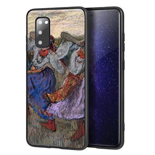 Berkin Arts Edgar Degas Custodia per Samsung Galaxy S20/Custodia per Cellulare Art/Stampa giclée UV sulla Cover del Telefono(Ruso Bailarines)
