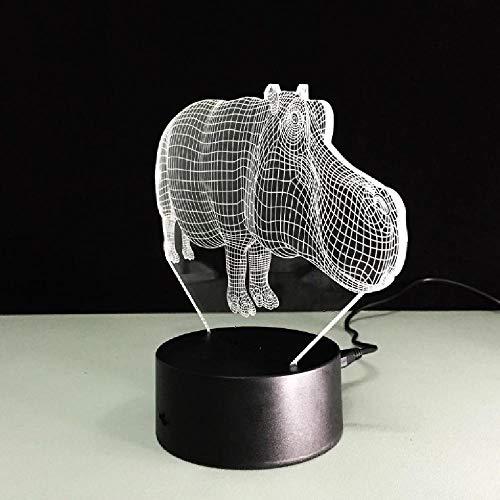 Lámpara 3D Interruptor Táctil Lámpara 3D Inalámbrica Veilleuse Enfant Novedad Decoración De Luz De Mesa Letras De Luz De Ilusión 3D