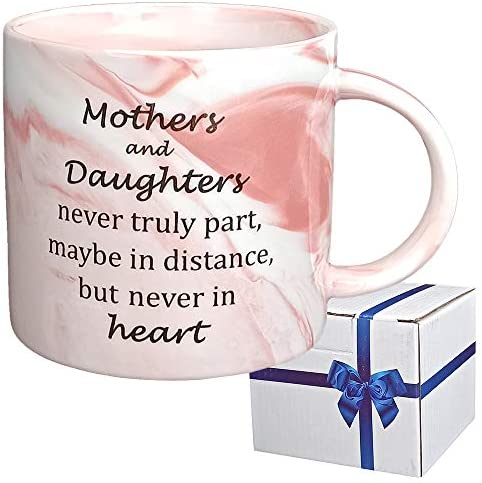UniLiGis Mothers and Daughters never truly part maybe in distance but never in heart Coffee product image