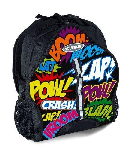 Voltage Skate and Skateboard Cartoon Bag Backpack by Voltage