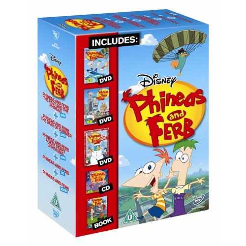 Phineas & Ferb Gift Set [UK Import]