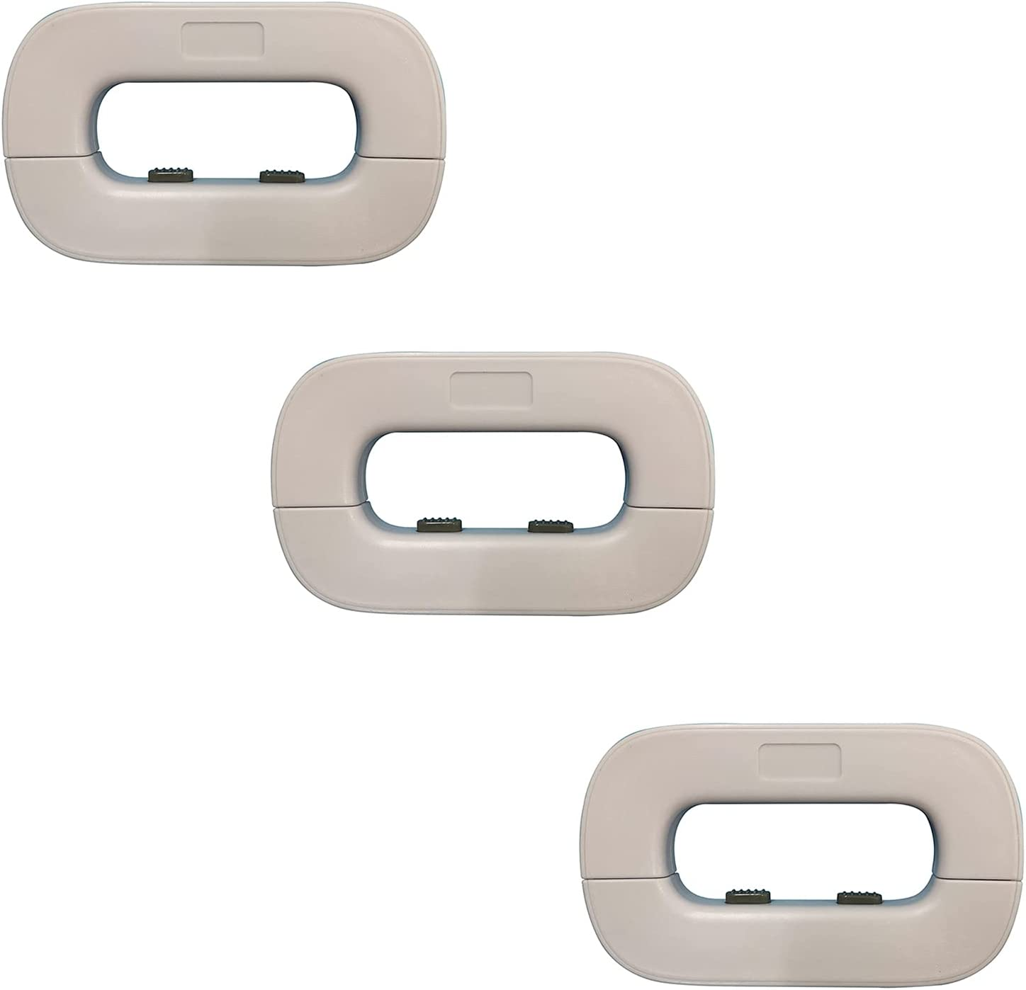 3 Bombing new work Indefinitely Pack Child Safety Self-Adhesive Cupboard Cabinet Locks