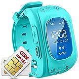Hangang enfants GPS Tracker Safe Smartwatch Smart Bracelet SOS appeler Location...