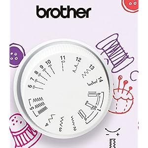 Brother KE14S Little Angel - Nähmaschine mit Fingerschutz (14 Stiche)