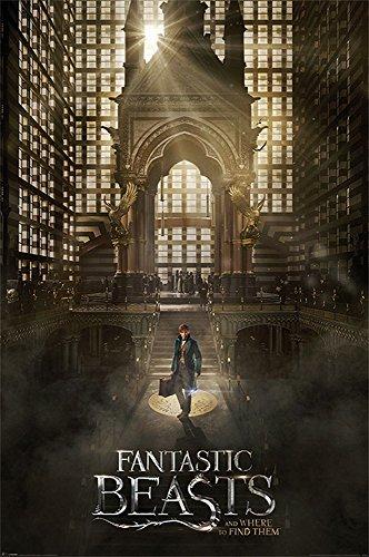 Fantastic Beasts - Phantastische Tierwesen - Teaser - Film Kino - Poster Druck - Größe 61x91,5 cm