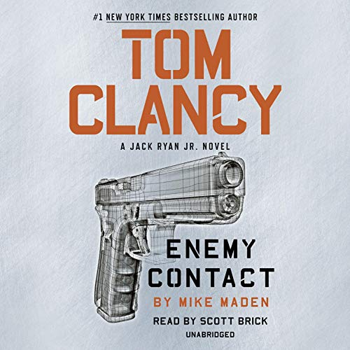 Tom Clancy Enemy Contact audiobook cover art