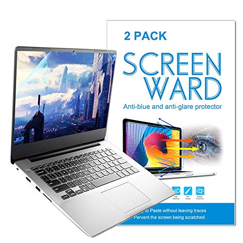 15.6 Inch Laptop Anti Glare(Matte) Screen Protector Cover 2 Pack for All 15.6 inch 16:9 Aspect Ratio Screen Laptop, Scratch Proof, Dust-Proof and Fingerprint Resistant