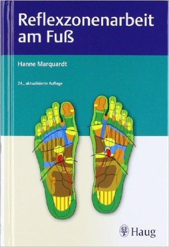 Reflexzonenarbeit am Fuß von Hanne Marquardt ( 9. November 2011 )