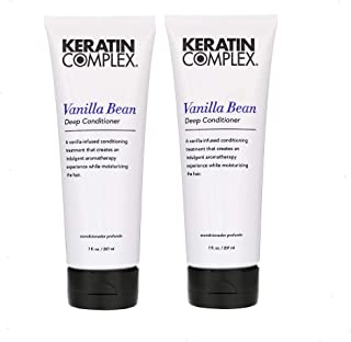 Keratin Complex Vanilla Bean Conditioner (Pack of 2), 210ml