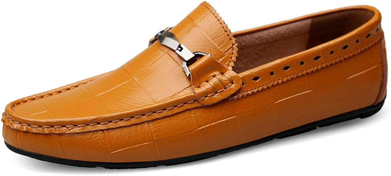SRY-shoes Men's Classic Driving Moccasins Slip On Loafers Comfortable Casual Driving shoes for Men