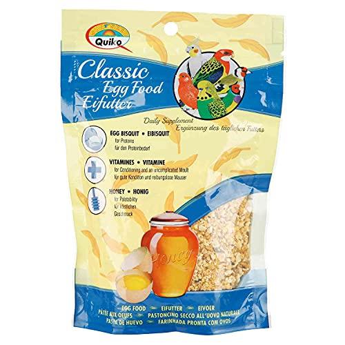 Quiko Bird Treats Classic Egg Food, 125 g