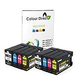 Colour Direct 8 (2 Impostatos) PGI-1500XL Compatibile Cartuccia D'Inchiostro Sostituzione per Canon MAXIFY MB2050, MB2350 Stampante.
