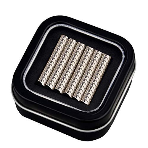 MUTUACTOR 120PC 5mm x 3mm Imán redondo de neodimio magnético permanente, frigorífico,...
