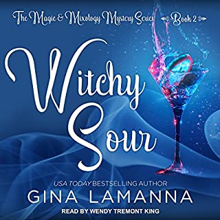 Witchy Sour audiobook cover art