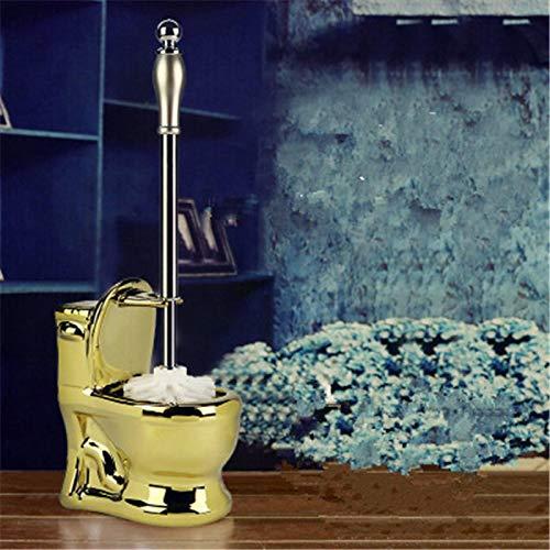 Escobillas de inodoro creativo cerámica limpieza cepillo titular hogar WC baño accesorios conjuntos decoración regalo boda