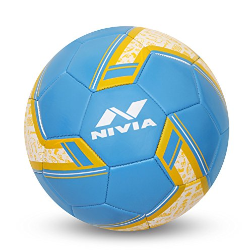 NIVIA SPINNER MACHINE STITCHED FOOTBALL SIZE -5 (ARGENTINA )