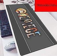 ゲーミングマウスマットラージマウスMat900X400mmマウスパッド、スピードゲーミングマウスパッド、3ミリメートル厚のベースと拡張XXL大Mousemat (Color : H)