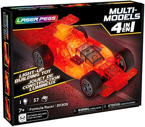 Laser Pegs 4 in 1 Formula Racecar product image