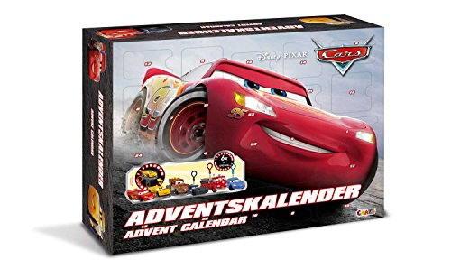Craze 13786 – Disney Pixar Cars Calendario de Adviento , color/modelo surtido