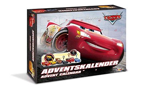 Craze 13786–Disney Pixar Cars Calendario de Adviento , color/modelo surtido