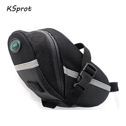 KSprot Bicycle Saddle Bag, Pocket Seat Pack Bike Rear Sack Toolkit...