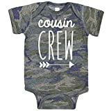Cousin Crew Arrow T-Shirts and Bodysuits for Baby and Toddler Boy and Girls Fun Family Outfits Vintage Camo Bodysuit