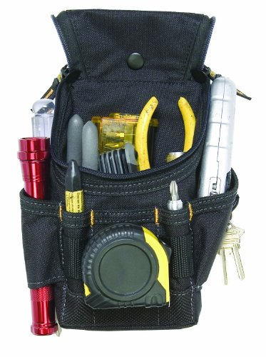 CLC Custom Leathercraft 1523 Ziptop Utility Pouch, Small