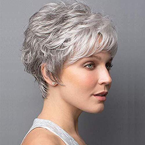 SEVENCOLORS Short Wigs for Black Women Short Pixie Cut Synthetic Wigs for Black Women Short Hairstyles (B087WPK5TP)