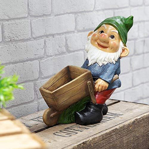 Country Living Gartenzwerg mit Schubkarre