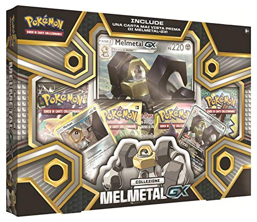 The Pokemon Company Pokemon Set Melmetal Box Carte Collezionabili, Multicolore, 0820650309472