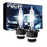 RCP HIDバルブ 車用ヘッドライト D4S/D4R汎用 純正交換 35W Xenon HID 8000K 発光色選択可能 明るさアップ 加工なし 2年保証 2個入り RCP-D4C