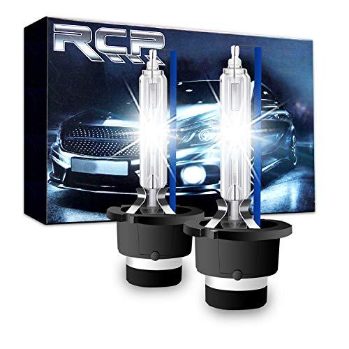 D1S// D1C 4300K Xenon HID Replacement Bulb Diamond White Metal Stents Base 12V Car Headlight Lamps Head Lights 35W A Pair