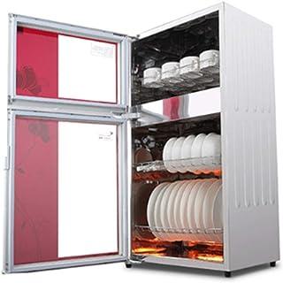 Desinfección Gabinetes Verticales Alta Temperatura Inicio De Cocina Armarios Lavavajillas Lavavajillas El Ahorro De Energía (Color : Red, Size : 41.9 * 33.8 * 79cm)