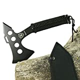 TS Knife TOMAHAWK 273 Hacha táctica | Longitud de la hoja: 16 cm | Hacha táctica de supervivencia...