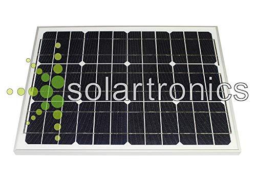 Módulo Solar 25 Watt Mono Celda Solar Panel Solar Fotovoltaico