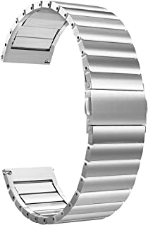 Ostek Ceramic Watch for Active 2 and GT1/Honor Magic - 20mm - Silver