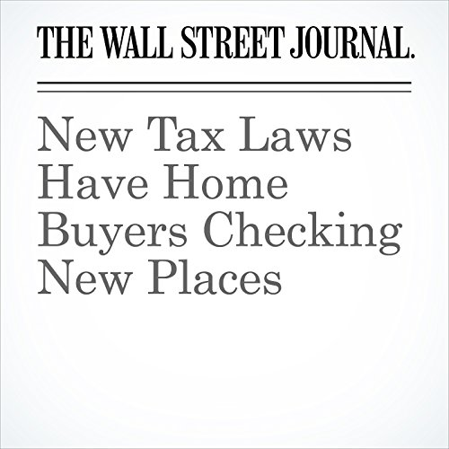 New Tax Laws Have Home Buyers Checking New Places copertina