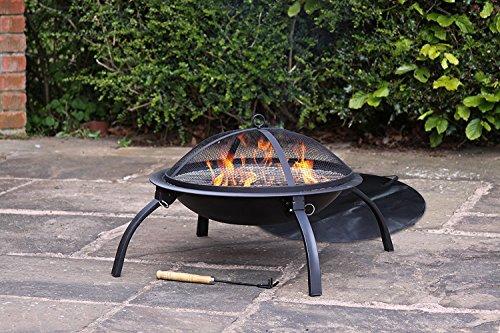 Gardeco Folding BBQ Firebowl 39cm - FB1-FOLD