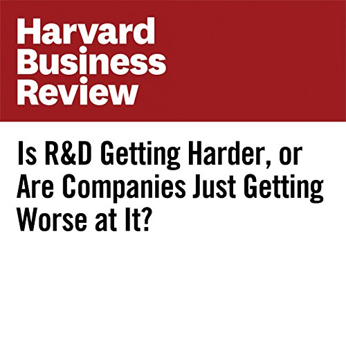 Is R&D Getting Harder, or Are Companies Just Getting Worse at It? copertina