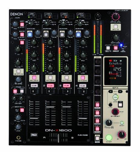 Denon DN-X1600 - Mezclador de DJ digital (4 canales)