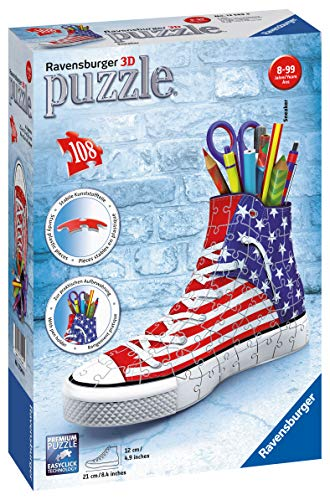 Ravensburger - Puzzle 3D - Sneaker - American Style -...