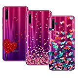 Young & Ming Cover per Huawei Honor 20 Lite/Honor 20E, (3 Pack) Morbido Trasparente Silicone...