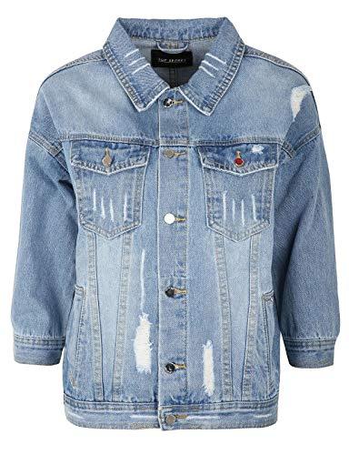 Top secret Women's Denim Jacket Blue in Size EU 38 / M