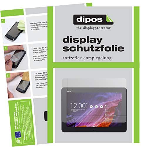 dipos I 2X Schutzfolie matt kompatibel mit ASUS Transformer Pad TF103C 10,1 Zoll Folie Bildschirmschutzfolie