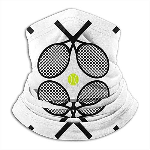 Xian Shiy Tennisschläger Black Ultimate Thermal Retention. Hergestellt aus Performance Comfort Fleece & Microfaser