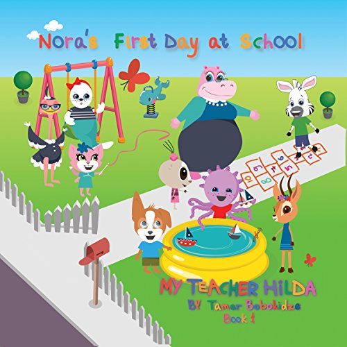 Nora's First Day at School audiobook cover art