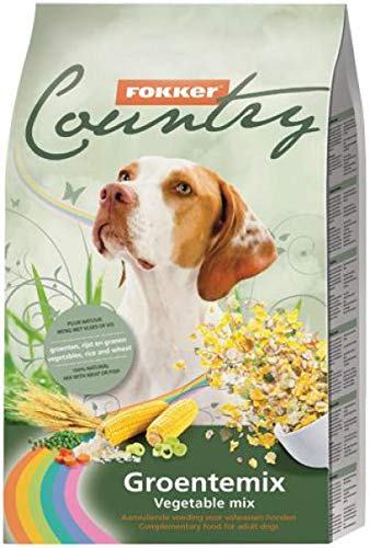 6 KG Fokker country groentemix hondenvoer