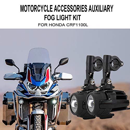 Felicey perfectamente Niebla luces accesorios para motocicletas para ho.n.da CRF1100L CRF 1100L...