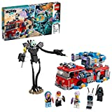 LEGO Hidden Side Phantom Fire Truck 3000 70436, Augmented Reality (AR) Fire Truck Toy, App-Driven Ghost-Hunting Kit, Includes a Mecha Robot, 5 Minifigures and a Harbinger Figure, New 2020 (760 Pieces)